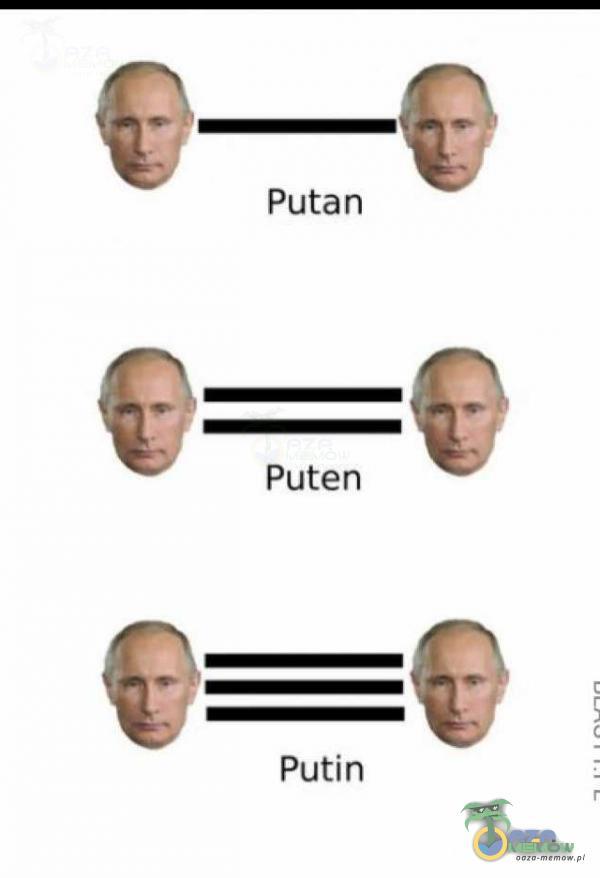 6—0 Putan Puten Putin