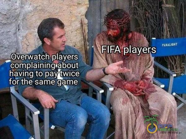 nnL16Hr FIFA ayers Y. Overwatch ayers aining about foî the same game