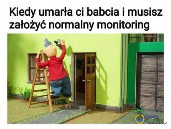 Kiedy umarła ci babcia i musisz założyć normalny monitoring