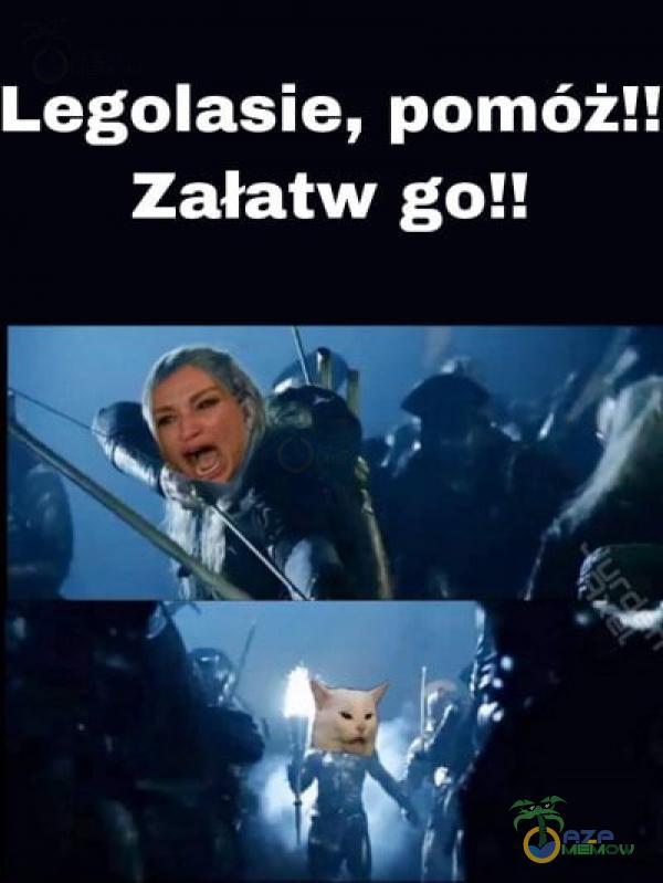 Legolasie, pomóż!! Załatw go!!