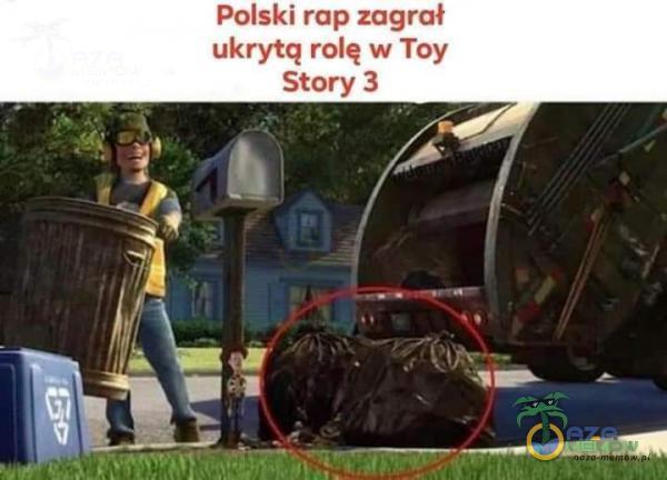 Polski rap zagrał ukrytq rolę w Toy Story 3