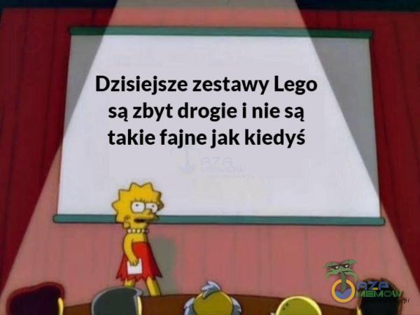 """"""" Dzisiejsze zestawy Lego 3 sązbyt drogie inie są takie fajne jak kiedyś JE3 —"""