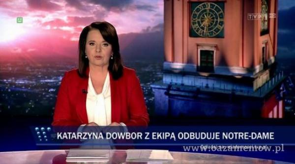 KATAÓYNA DOWBOR Z EKIPĄ ODBUDUJE NOTRE-DAME