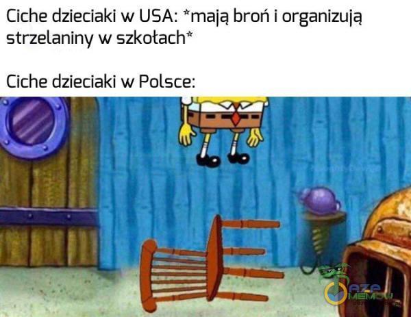 Ciche dzieciaki w USA: mają broń i organizują strzelaniny: w szkotach* Ciche dzieciaki w Polsce: