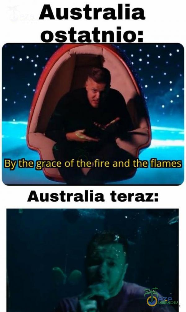 Australla Ęy(fń?grace of the fire and thesflan UB m Australia teraz: