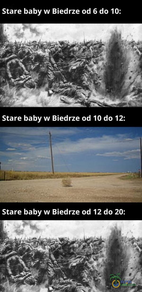 Stare baby w Biedrze od 6 do 10: Stare baby w Biedrze od 10 do 12: