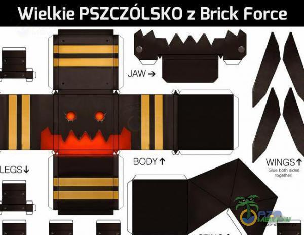 """Wielkie PSZCZÓLSKO : Brick Force WWPJUŚT , W """""""