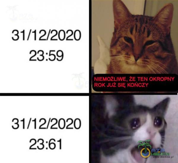 31/12/2020 23:59 31/12/2020 23:61