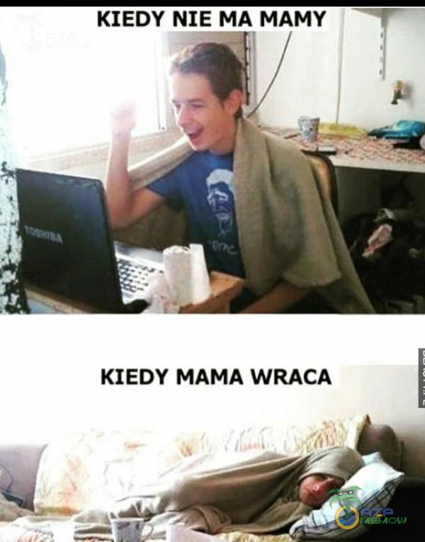 KIEDY NIE MA MAMY F