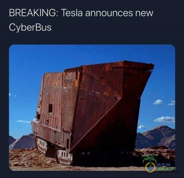 BREAKING: Tesla announces new CyberBus
