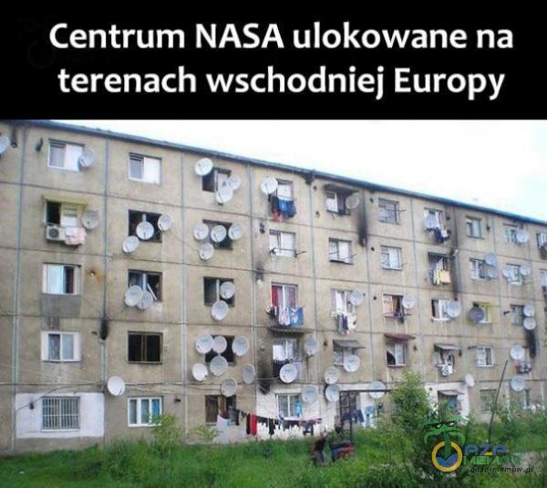 Centrum NASA ulokowane na terenach wschodniej Europy