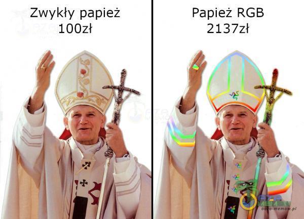 Zwykły papież Papież RGB