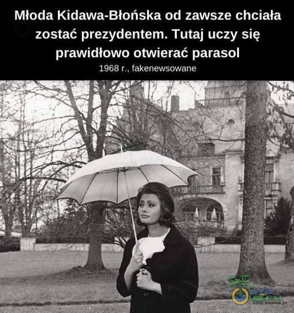Oaza Memów - Młoda Kidawa-Błońska od zawsze...