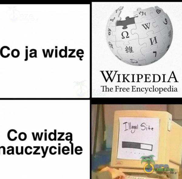 Co ja widzę WIKIPEDIA The Free Encyclopaedia Co wid_z nauczycne e