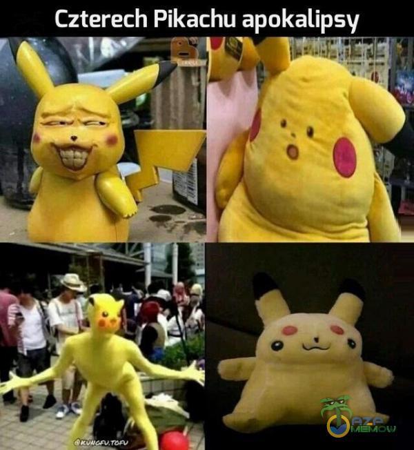 Czterech Pikachu apokalipsy