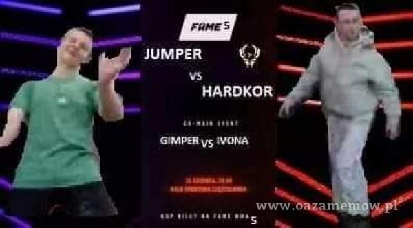 JUMPER HARDKOR GIMPERvs MONA .