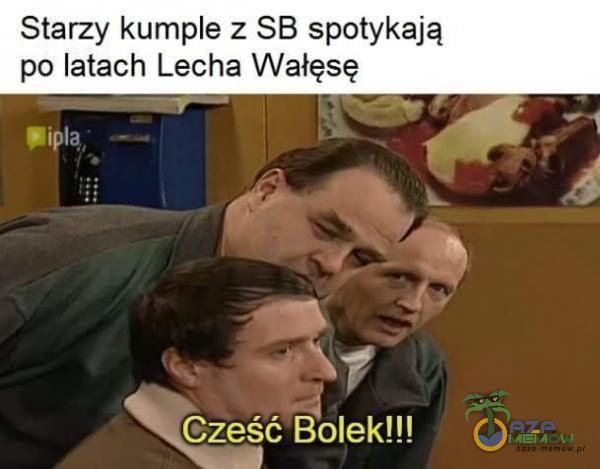 Starzy kume z SB spotykają po latach Lecha Wałęsę = ES) TAA 5 Fu