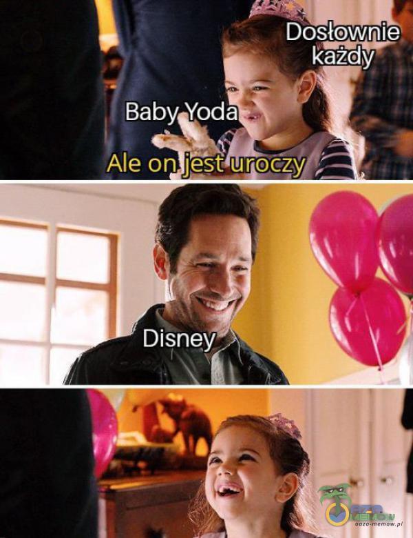 Dosłownie Każdy Baby Yoda Ale on j&t urocžy Disney