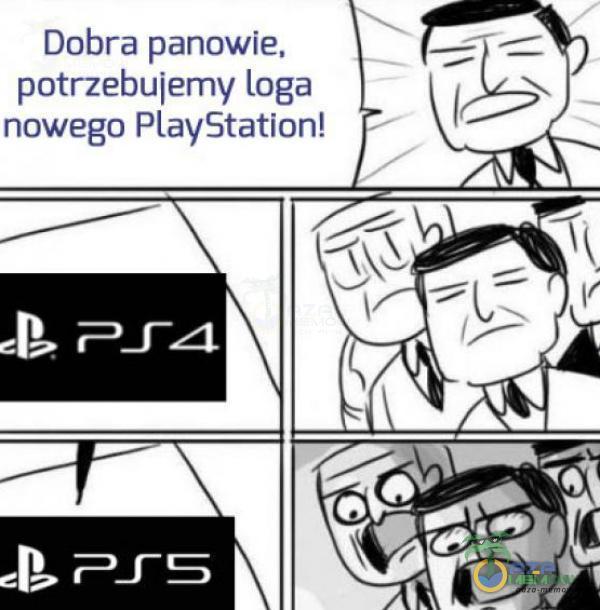 Dobra panowie, = potrzebujemy loga 5 nowego PlayStation!