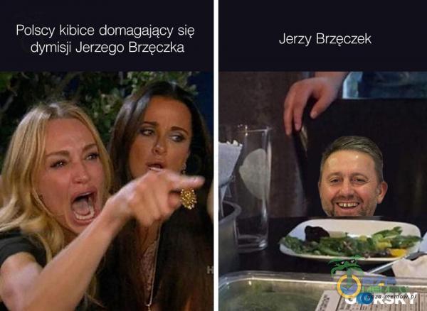 Polscy kibice domagający się Jerzy Brzęczek dymisji Jerzego Brzęczka _ RSI(W