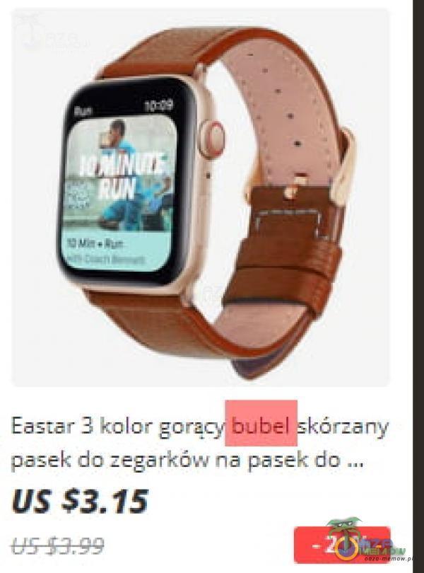 kolor bubel kórzčny pasek do zegarków na pasek do US$