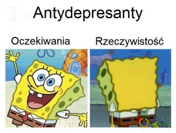 Antydepresanty Oczekiwania Rzeczywistość