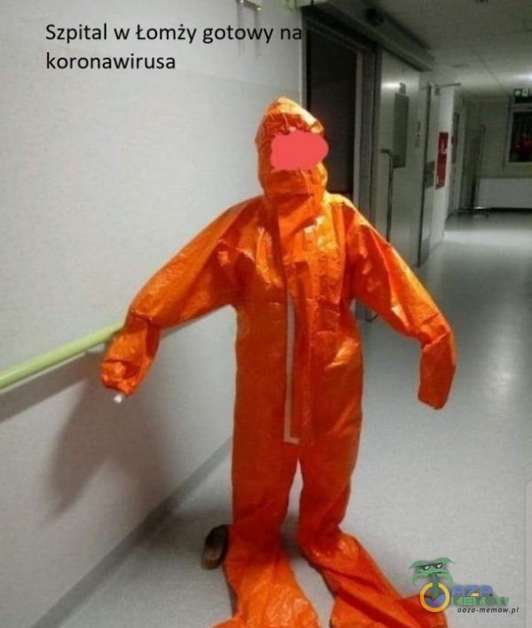 Szpital w komzy got koronawitusa