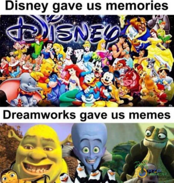 Disney gave us memories