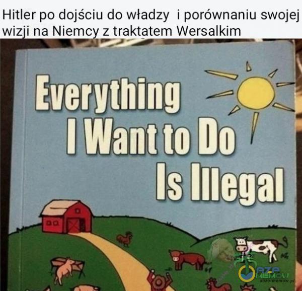 Hitler po dojściu do władzy i porównaniu swojej