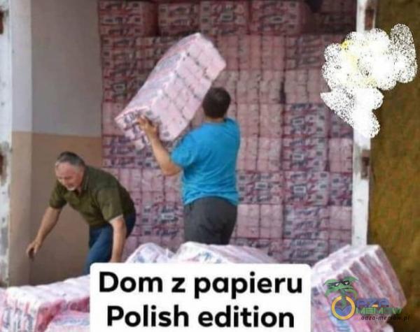 Dom z papieru c: Polish edition