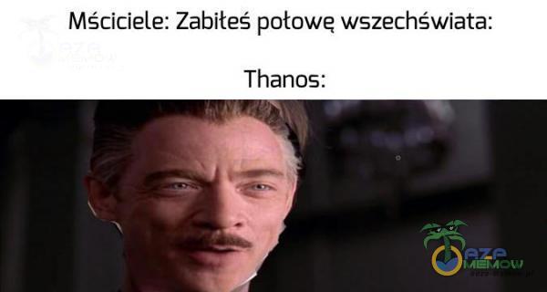 Mściciele: Zabiteś połowe wszechświata: Thanos: