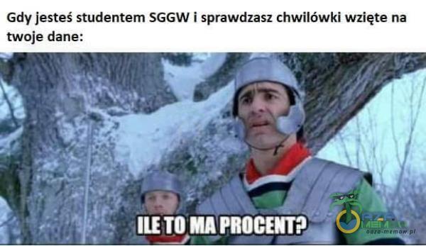 Gdy jesteś studentem SGGW i sprawdzasz chwilówki wzięte na twoje dane: ILE TO MA PROCENT?