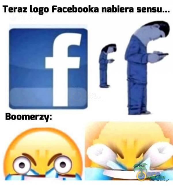 "Teraz lago Facebooka nabiera fl"" Ą RF   Boomerzy:"