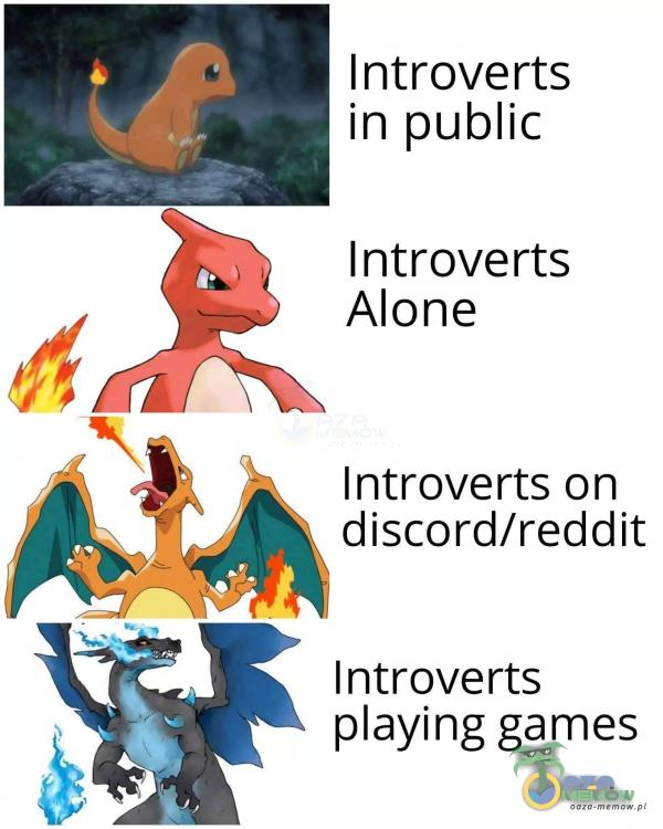 I ntroverts Introverts Alone Introverts on discord/reddit Introverts aying games