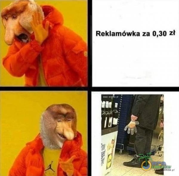 .!› |I Reklamówka za D,30 zł