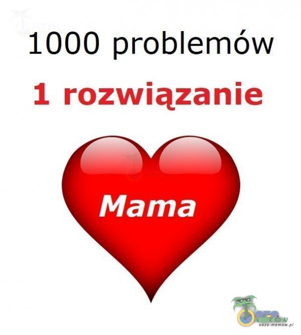 1000 problemów 1 rozwiązanie