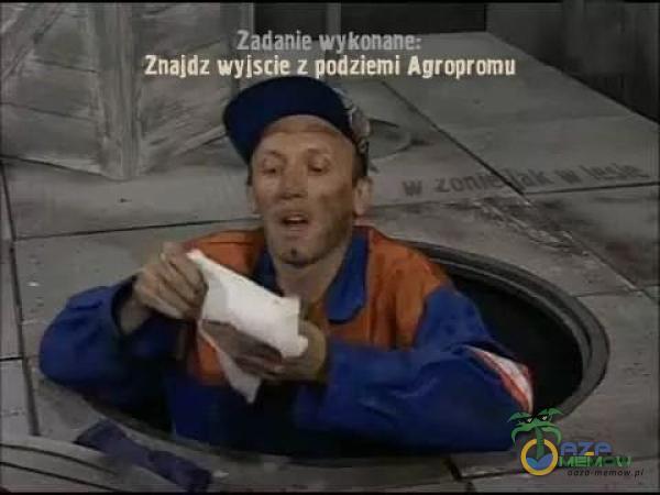 Zadanie Znajdz wyiș Agropromu