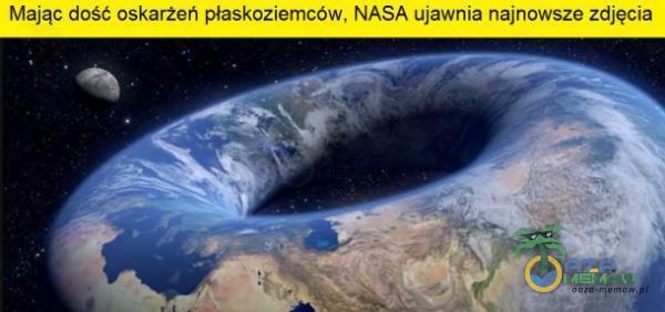 Mając dość oskarżeń płaskoziemców, NASA ujawnia najnowsze zdjęcia