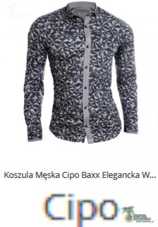 Koszula Męska Cipa Baxx Eiegancka (Cipa