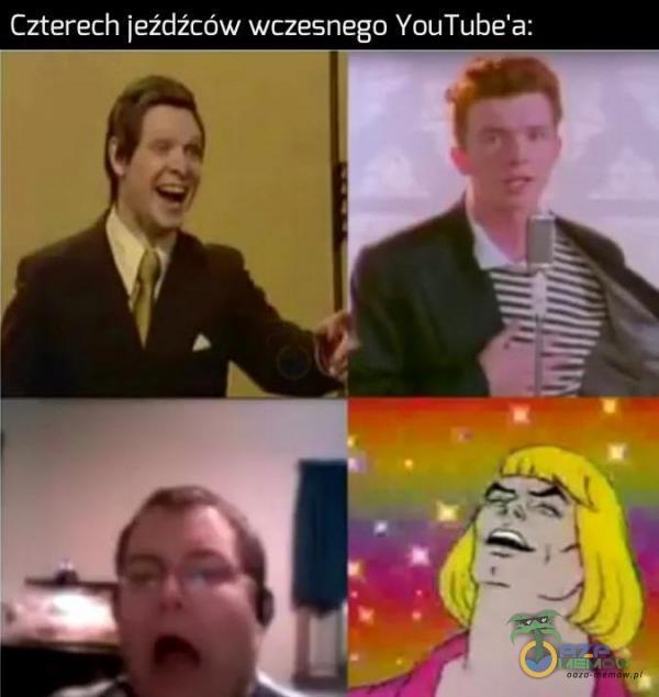 Czterech jeźdźców wczesnego YouTube a: