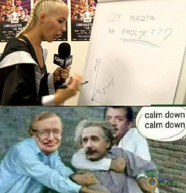 calm down calm down
