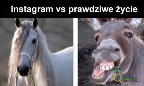 Instagram vs prawdziwe życie i$