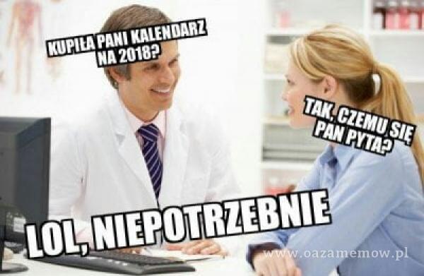 NA 2018P 'LOL, NIEPOTRZEBNIE