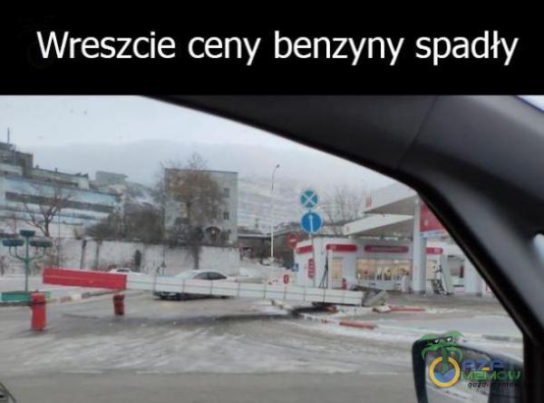 Wreszcie ceny benzyny spadły