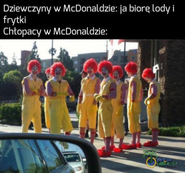 BYŁA LACZY tedego Lid) Chłopacy w McDonaldzie: