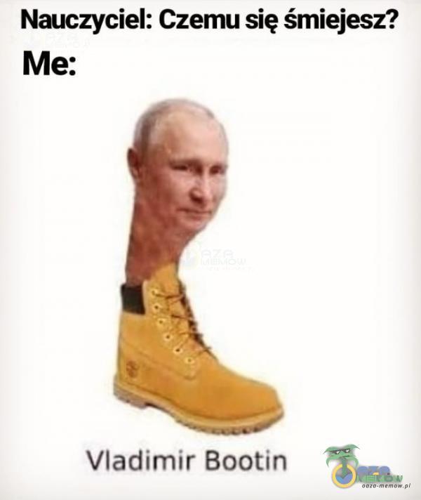 Naczynia: CZQmu się śmiejesz? Me: Vladimir Boutin