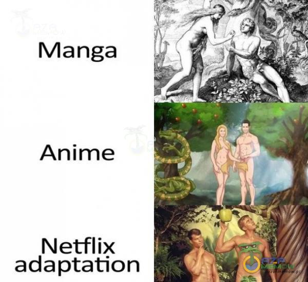 Manga Anime _ŕȚ /Â Netflix adaptation